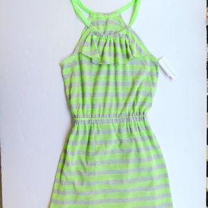 Jantzen Girls 10/12 Beach Cover Up Swim Dress NWT